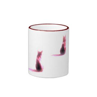 Cats Mug Taza De Dos Colores