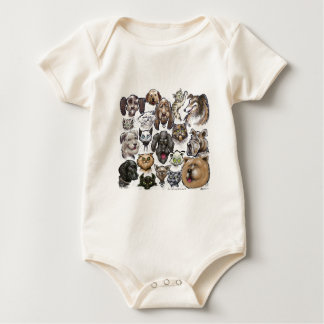 Cats n Dogs Baby Bodysuit