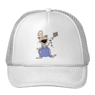 Cats 'n' Dogs · Cat with Kite Trucker Hat