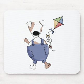 Cats 'n' Dogs · Dog with Kite Mouse Pad