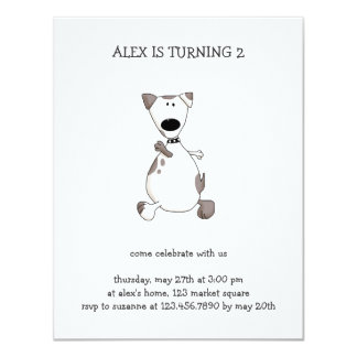 Cats 'n' Dogs · White Dog Invite