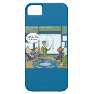 Cats Natural Enemy Funny iPhone 5/5S Case