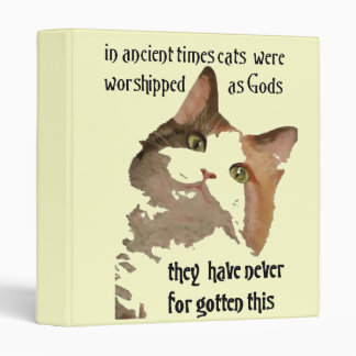 Cats Never Forget Binder