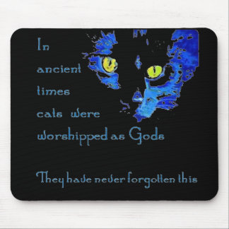 Cats Never Forget Mouse Pad