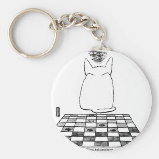 Cats Never Lose Keychain