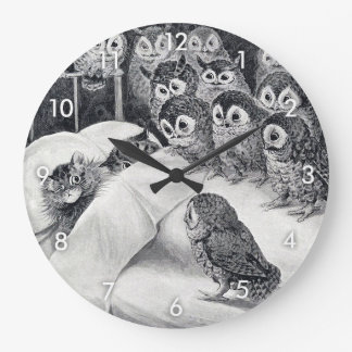 Cats Nightmare, Louis Wain Large Clock