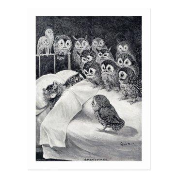 CatInArt Cats Nightmare, Louis Wain Postcard