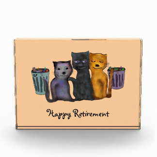 Cats Nite Out Retirement Award