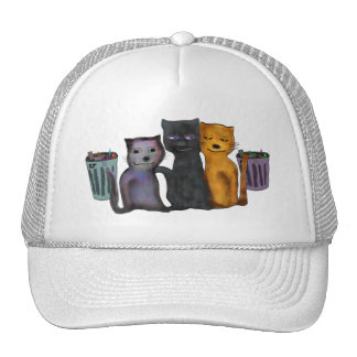 Cats Nite Out Trucker Hat