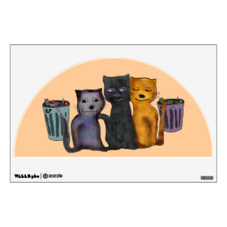 Cats Nite Out Wall Decal