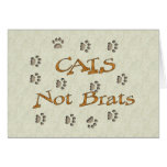 Cats Not Brats Cards
