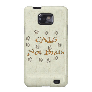 Cats Not Brats Galaxy SII Covers