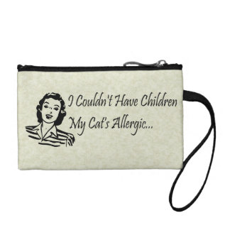 Cats Not Kids Coin Purses
