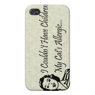 Cats Not Kids iPhone 4/4S Case