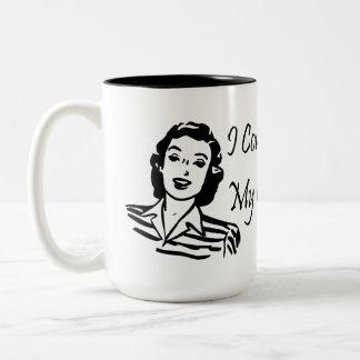 Cats Not Kids Two-Tone Coffee Mug