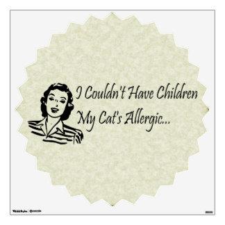 Cats Not Kids Wall Sticker