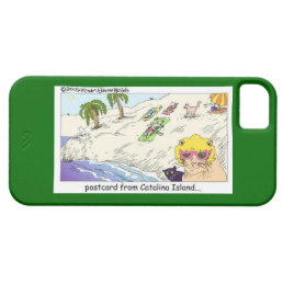 Cats Of Catalina Is. Funny iPhone 5/5S Case