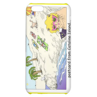 Cats Of Catalina Island Funny Gifts Cards &  iPhone 5C Cases