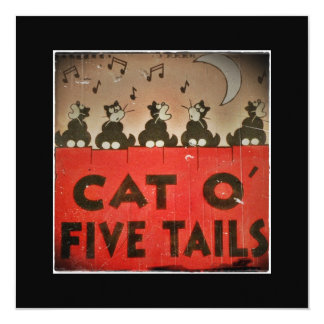 Cats of Five Tails Card