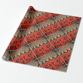 Cats of Five Tails Wrapping Paper