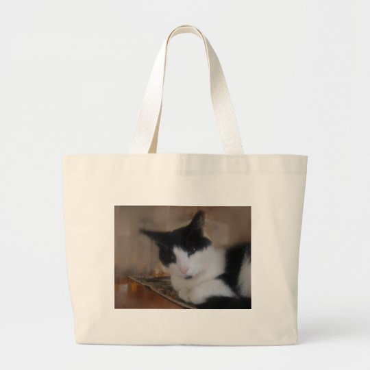 Cats of Kennedy Park Large Tote Bag
