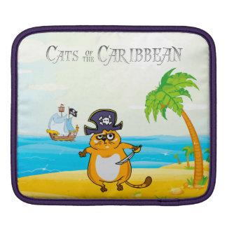 Cats of the Caribbean iPad Sleeve