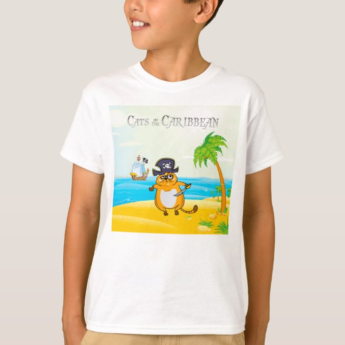 Cats of the Caribbean T-Shirt