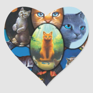Cats of the Clans Sticker