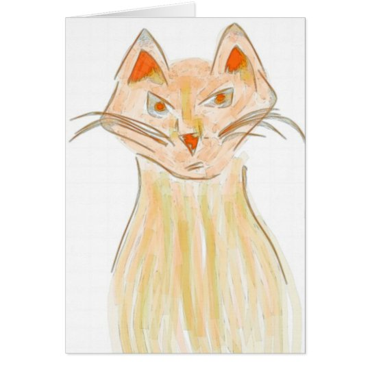 Cats of the World Notecard #4