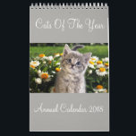 "Cats Of The Year Annual Calendar 2018<br><div class=""desc"">Cats Of The Year Annual Calendar 2018</div>"
