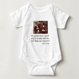 Cats on a Bench Baby Bodysuit