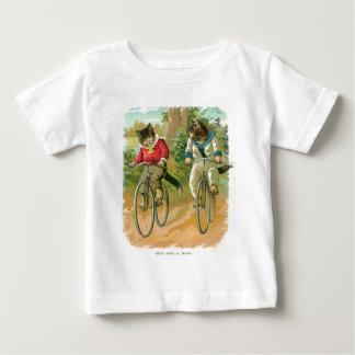 Cats On Bikes Baby T-Shirt