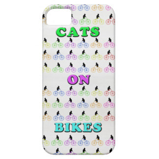 Cats on Bikes iPhone SE/5/5s Case