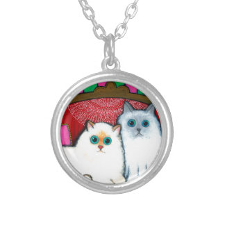 Cats on Couch Custom Jewelry