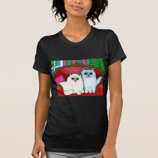 Cats on Couch T-Shirt