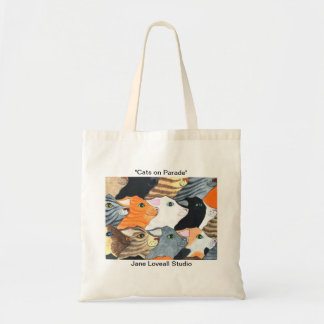 Cats on Parade Tote Bag