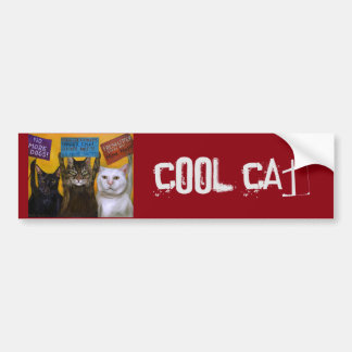 Cats On Strike 2 Bumper Sticker
