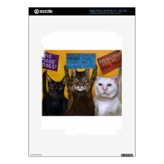 Cats On Strike 2 iPad 3 Decals