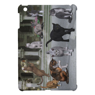 Cats on the Palace Steps Case For The iPad Mini