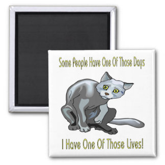 Cats: One Of Those Days Magnet