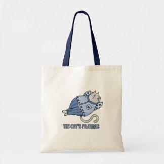 cats pajamas blue bag