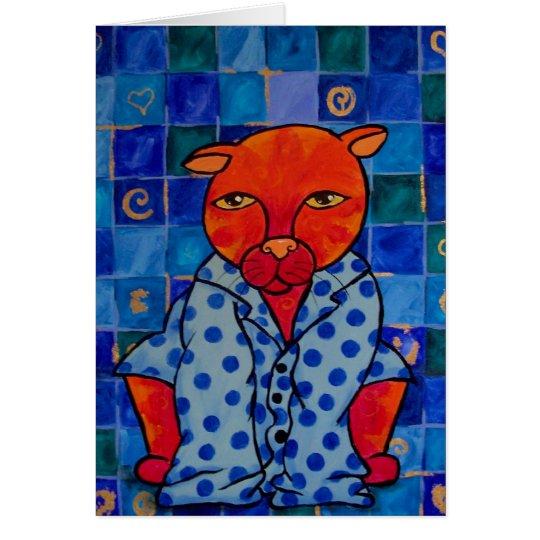 Cats Pajamas Card