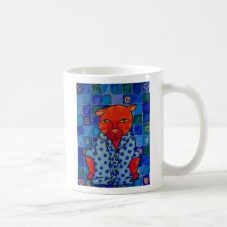 Cats Pajamas, I am not a morning person Coffee Mug