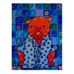 Cats Pajamas Post Card