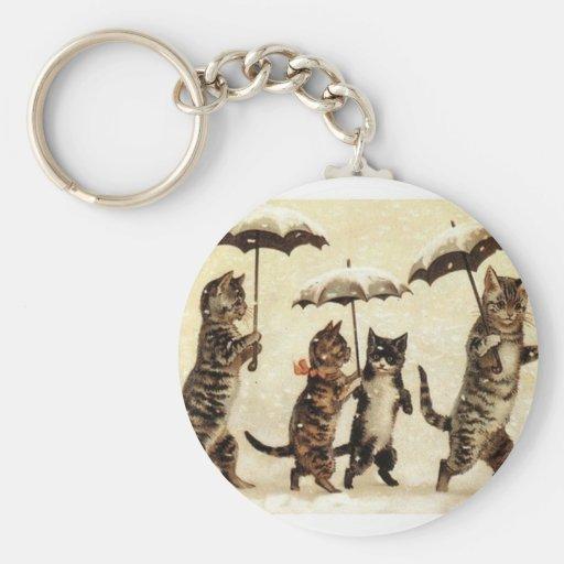Cats parade keychain