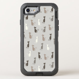 Cats pattern OtterBox defender iPhone 7 case