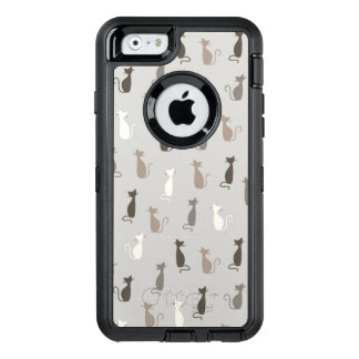 Cats pattern OtterBox defender iPhone case