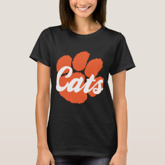 Cats Paw Basic Black Tee LGHS Wildcats