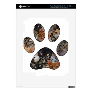 Cats Paw Decals For iPad 3