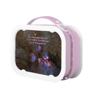 Cats Paw Nebula in Scorpius - deep space astronomy Lunch Box